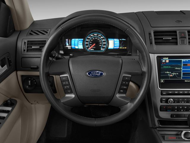 2012 Ford Fusion Hybrid Steering Wheel With Images Ford