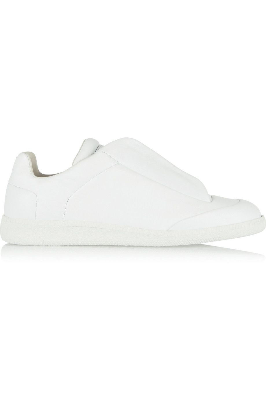 MAISON MARGIELA Leather Sneakers. #maisonmargiela #shoes #sneakers
