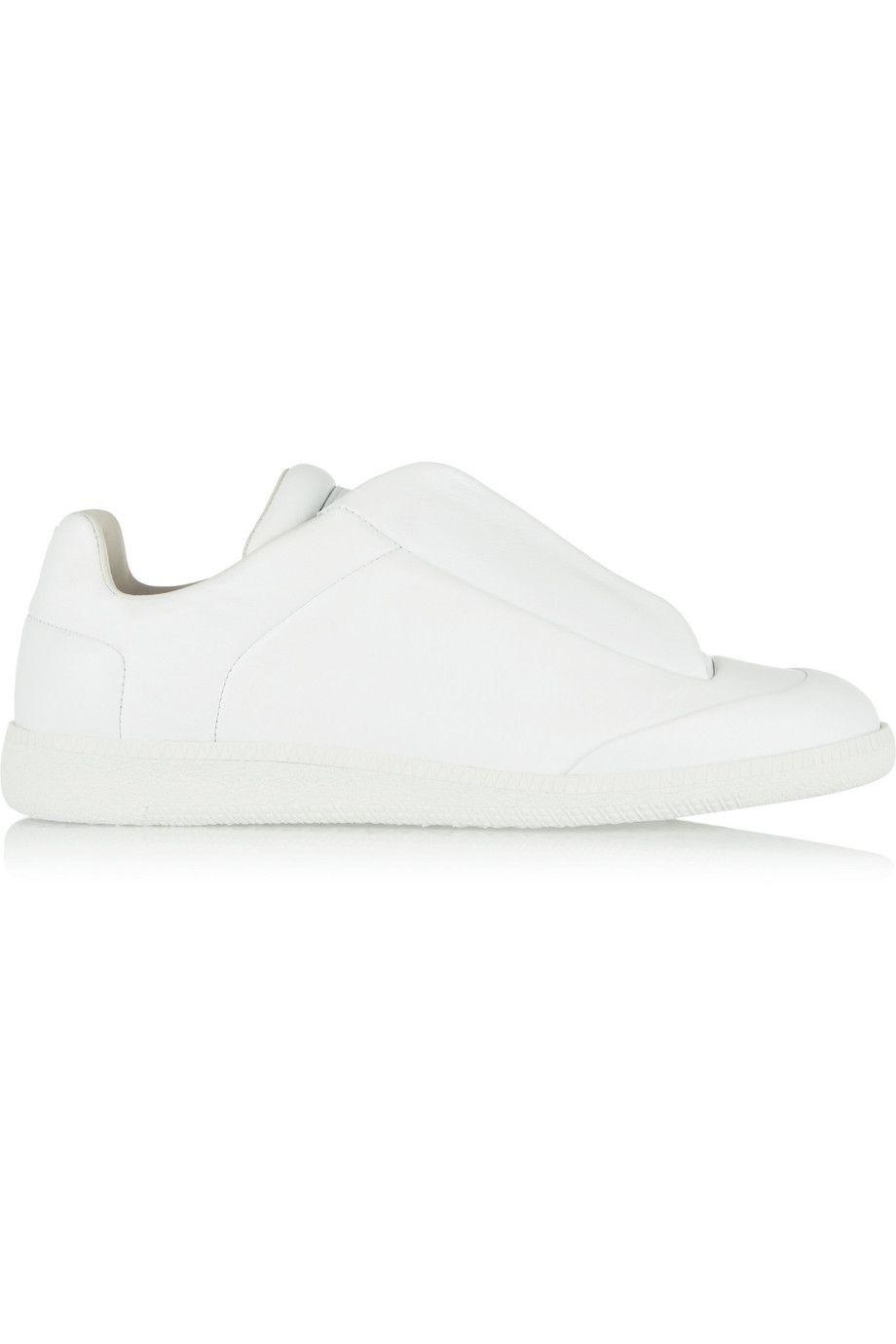 MAISON MARGIELA Leather Sneakers. #maisonmargiela #shoes #sneakers