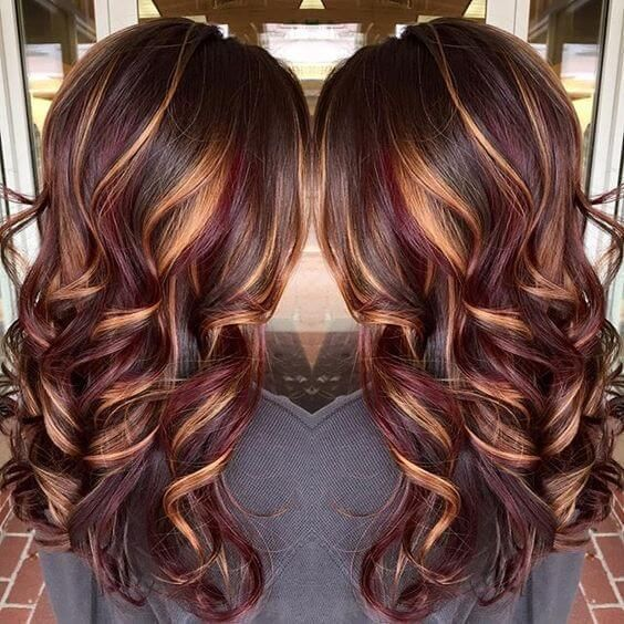 25 Best Hairstyle Ideas For Brown Hair With Highlights Long