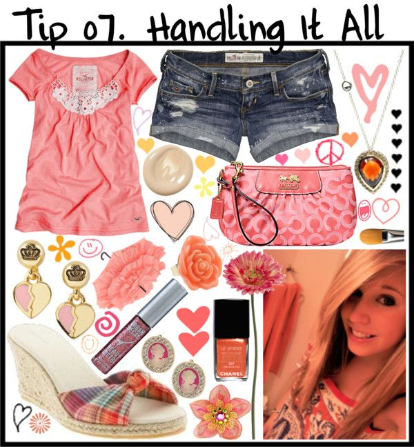 """""""Tip 7; Handling it All"""" by mushball ❤ liked on Polyvore"""