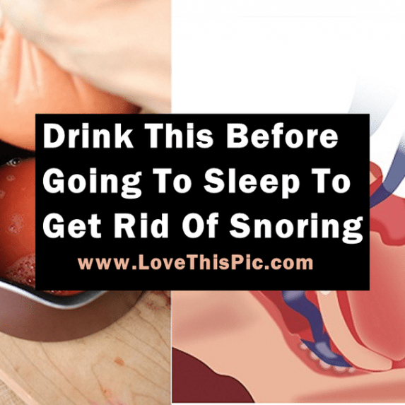 Try this easy remedy to stop snoring... #detoxdrinks ...