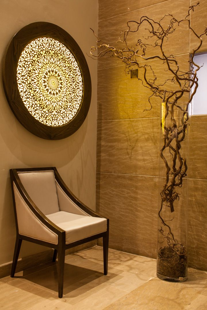 A very interesting take on Moroccan sconce