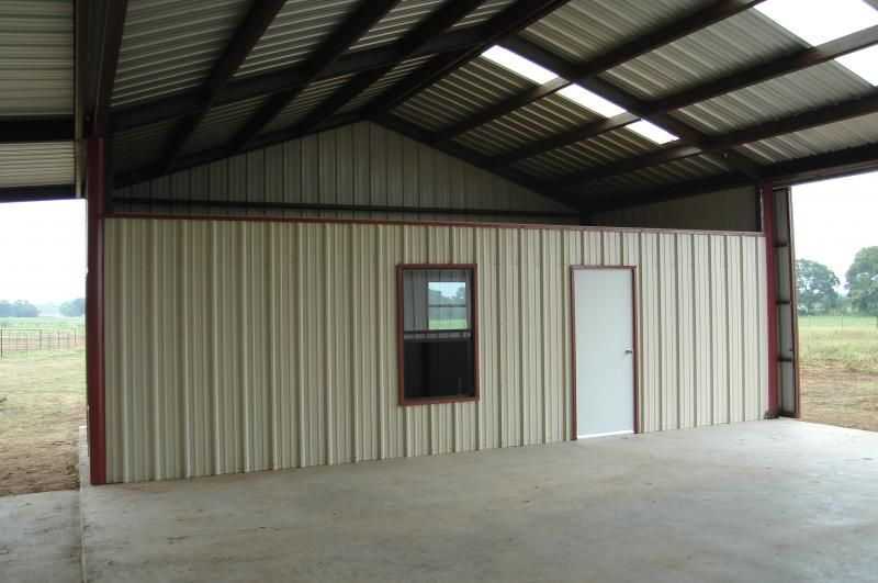 Metal Building With Living Quarters Shop Living