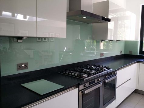 Tuscan Glade  Glass Colour Kitchen Splashback By CreoGlass Design (London,UK).  See More At: Www.creoglass.co.uk #kitchen #kitchendesign