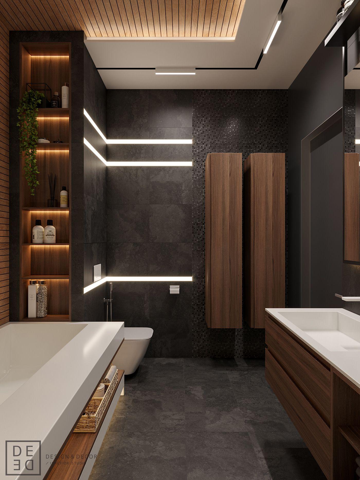 De De Wooden Luxury On Behance Bathroom Interior Design Master Bathroom Design Modern Bathroom