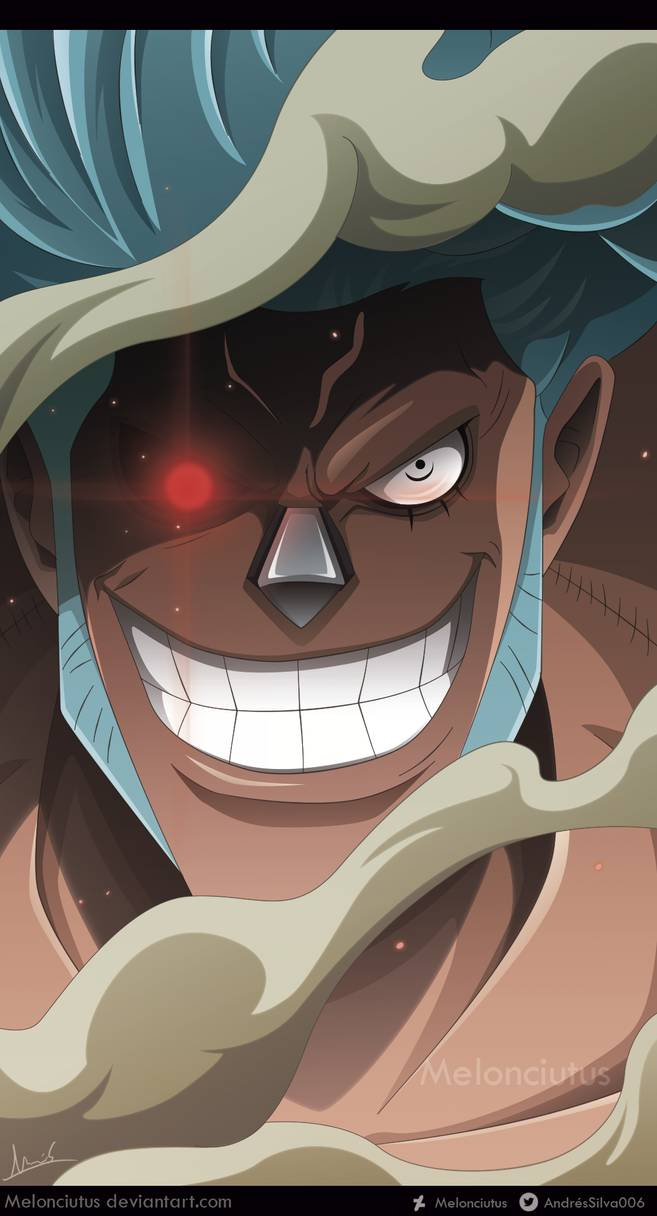 One Piece 944 Franky By Melonciutus On Deviantart One Piece Drawing One Piece Anime One Piece