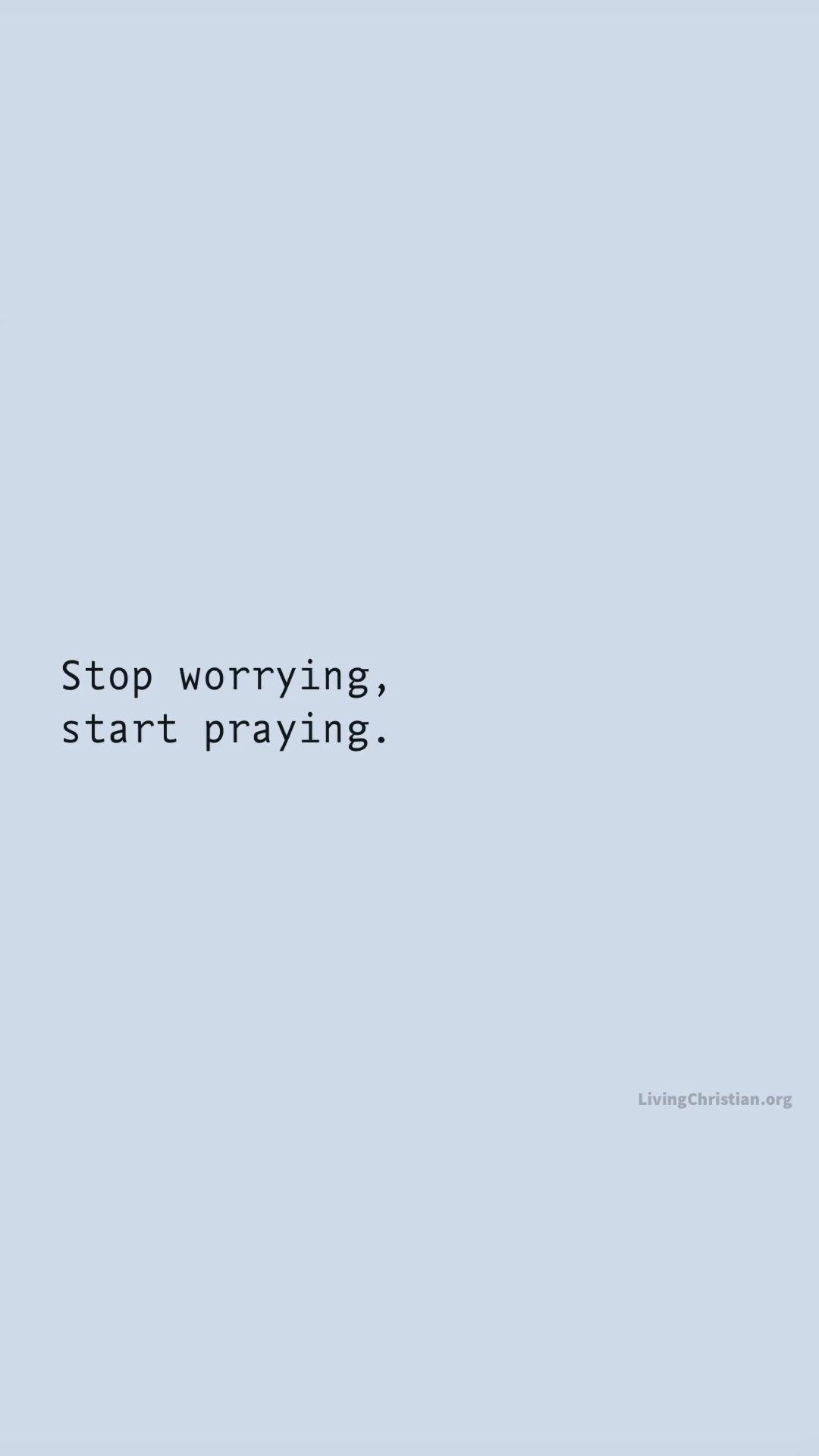 Start praying