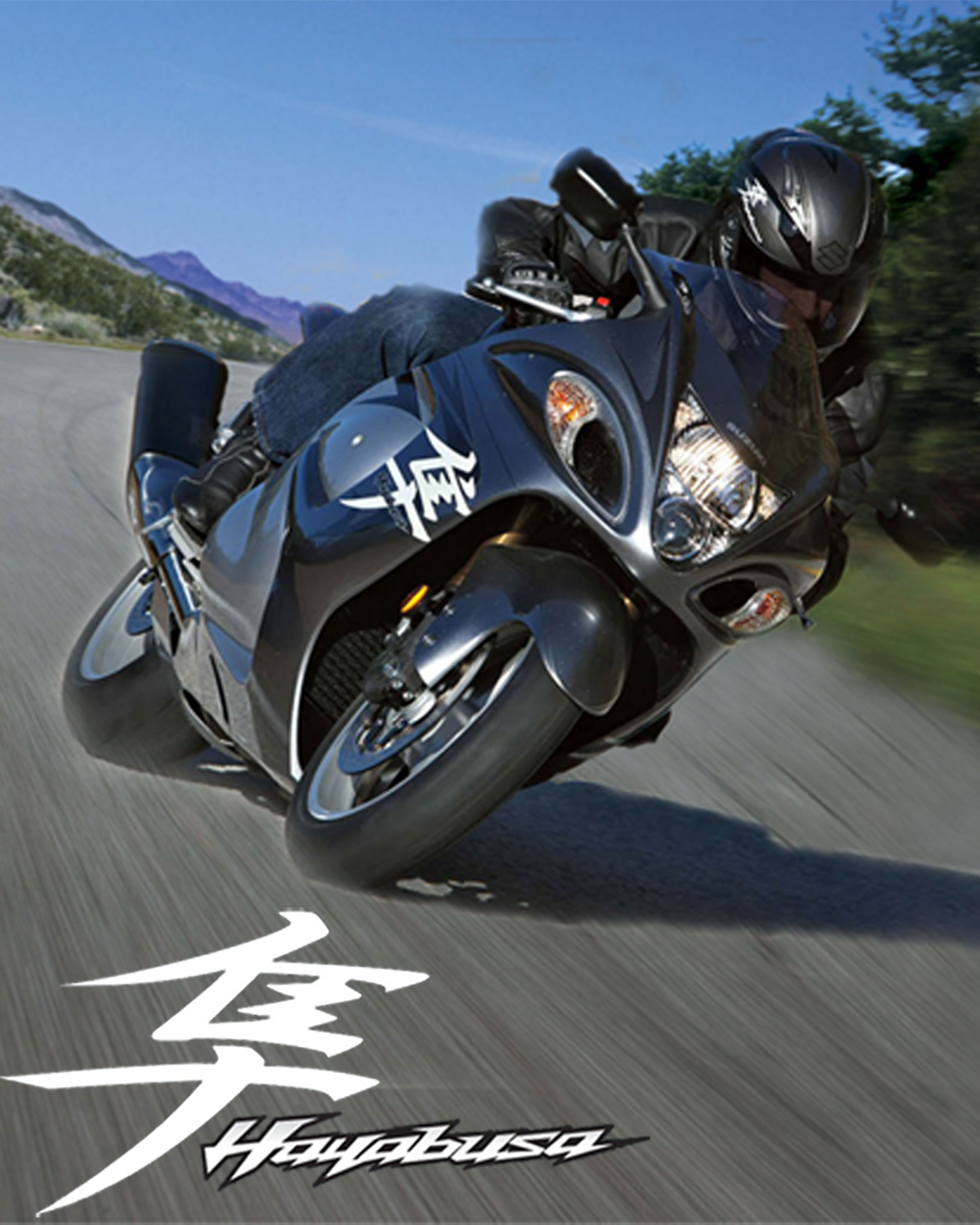 Suzuki Hayabusa Poster Created For Personal Use 16 By 11 Inches Dimensions Glossy Finish バイク