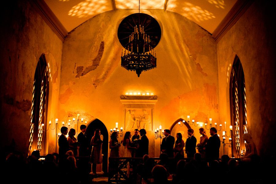 Ceremony St Mary S Chapel Natchez Ms