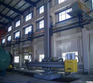 This Welding Manipulator Also Called Column Boom Manipulator Is