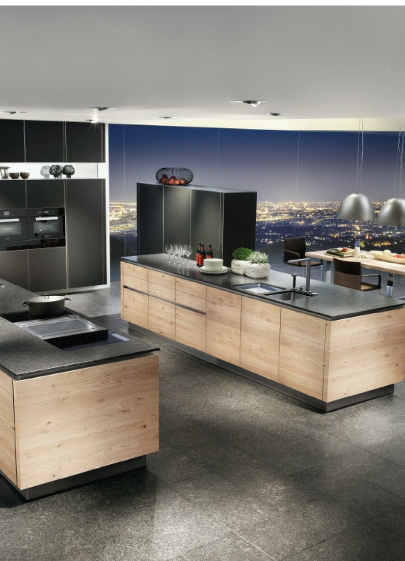 Küchengestaltung im europäischen stil  einrichtungsideen und küchenbilder für moderne holzküchen