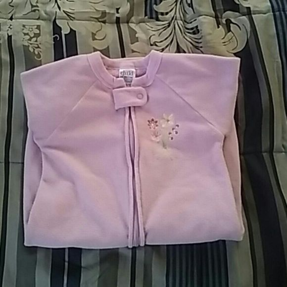 Child Of Mine Carter's Sleepbag Light purple with pull up zipper Carter's  Intimates & Sleepwear Pajamas