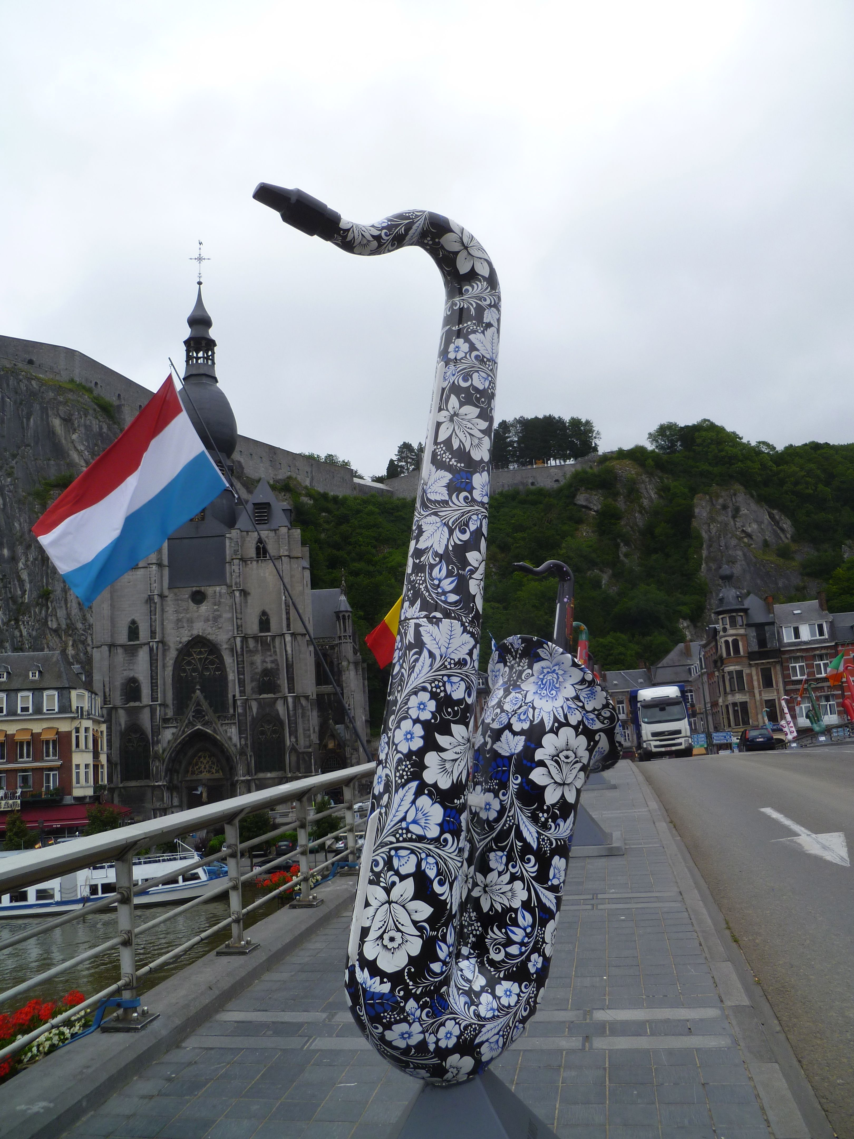Dinant Belgium A Brief Stop In The Home Of The Saxophone