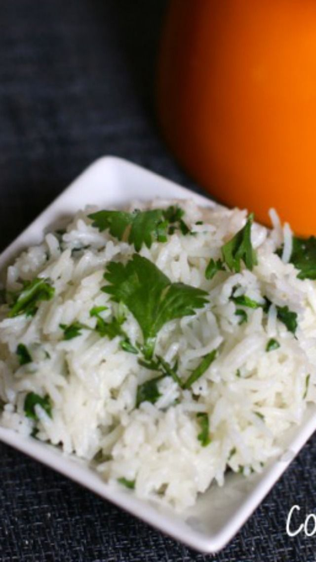 Chipotle Mexican Grill Cilantro Lime Rice, make this famous copycat recipe tonight.  #copycat recipe from CopyKat.com