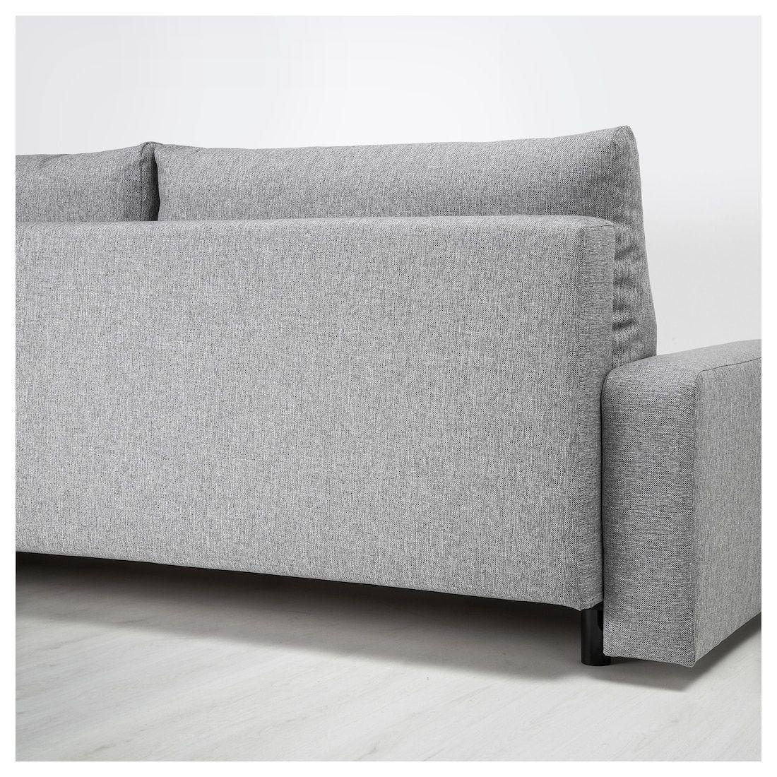 Gralviken Rozkladana Sofa 3 Osobowa Szary With Images Ikea
