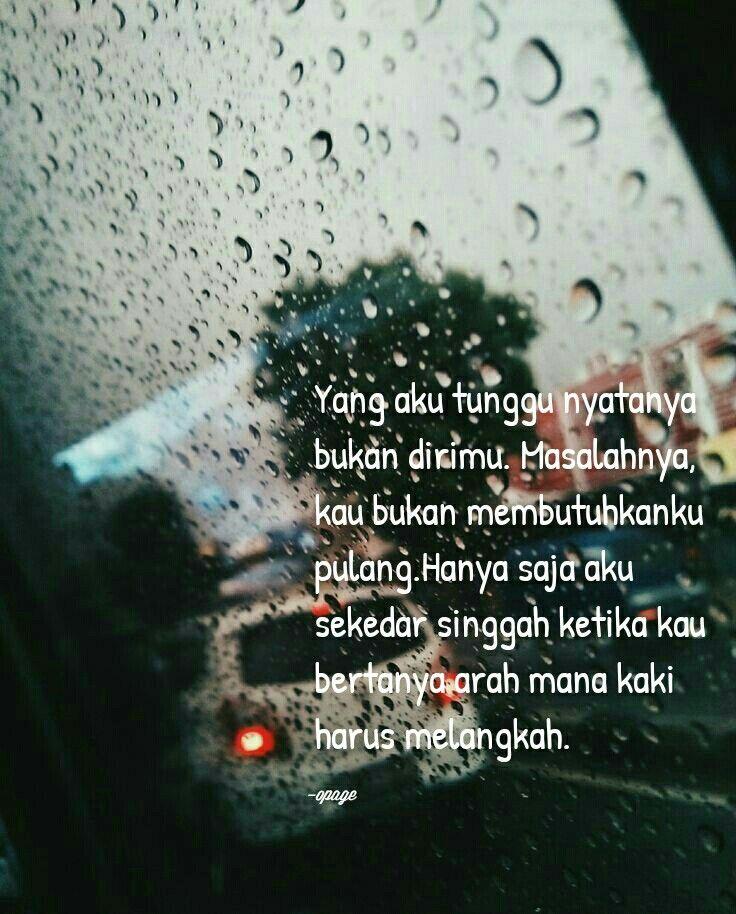 Pin oleh Eka Surtiningsih di Galau Kaki