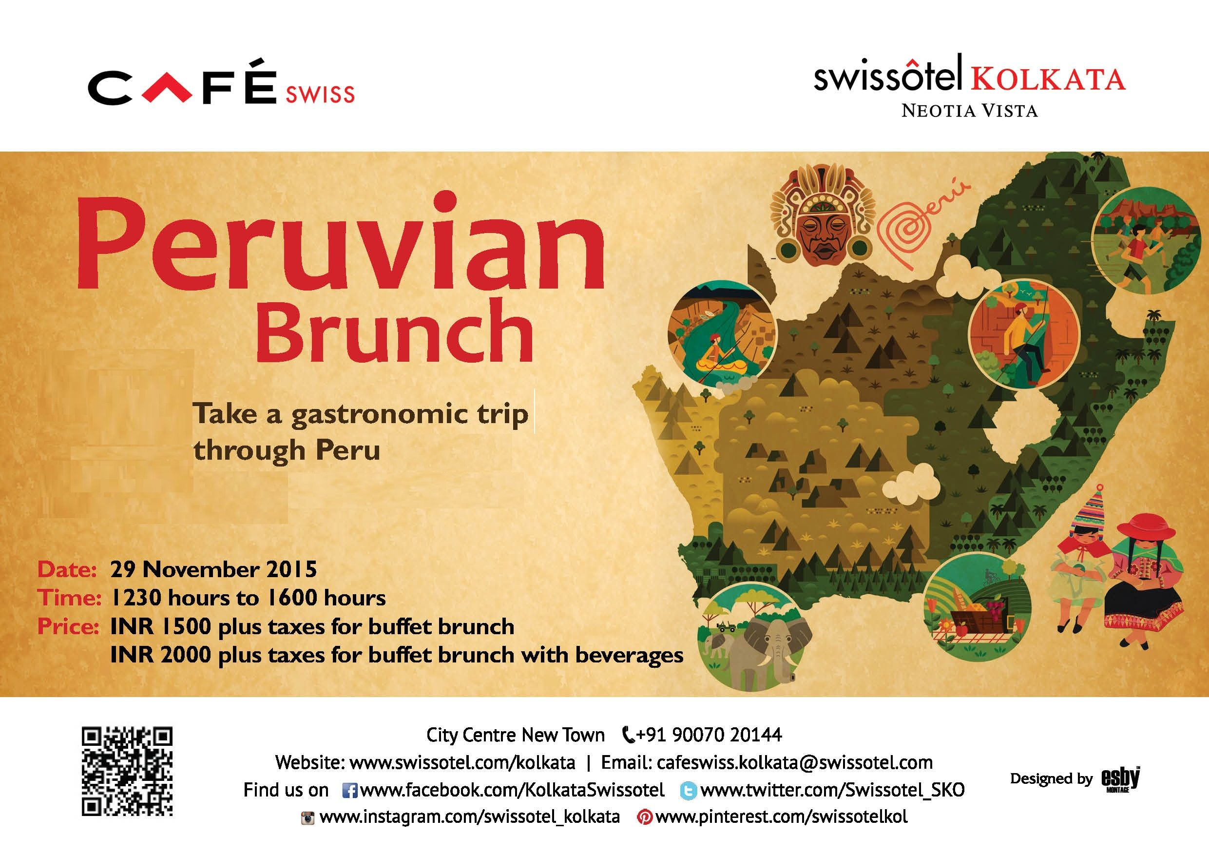 A delicious tryst with Peru awaits at Cafe Swiss! | Upcoming ...