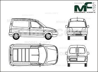 Peugeot partner box car blueprints ai cdr cdw dwg dxf eps peugeot partner box car blueprints ai cdr cdw dwg dxf malvernweather Gallery