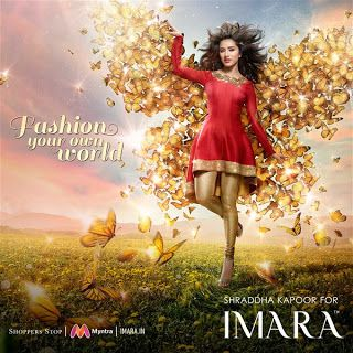 IMARA fashions a new brand campaign for A/W 16 with Shraddha Kapoor  http://spanishvillaentertainment.blogspot.com/2017/04/imara-fashions-new-brand-campaign-for.html