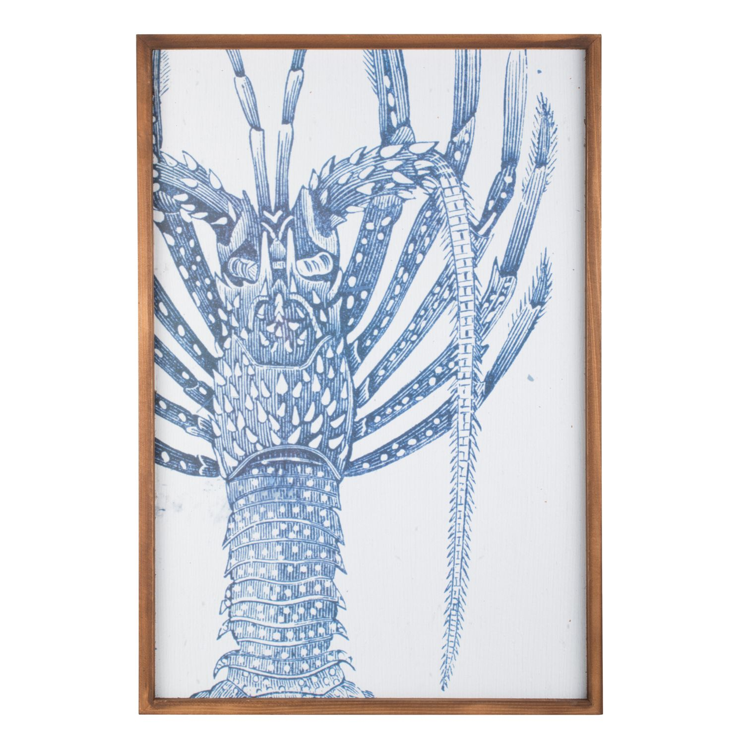 Navy lobster wooden wall art crimbo presents for me pinterest