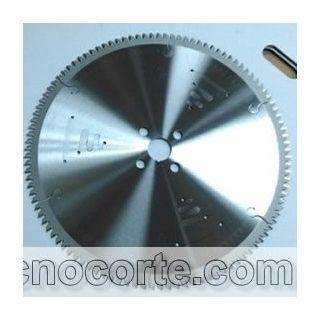 Sierra circular para corte de aluminio y plasticos