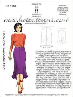 fashion sewing patterns. Hot Patterns