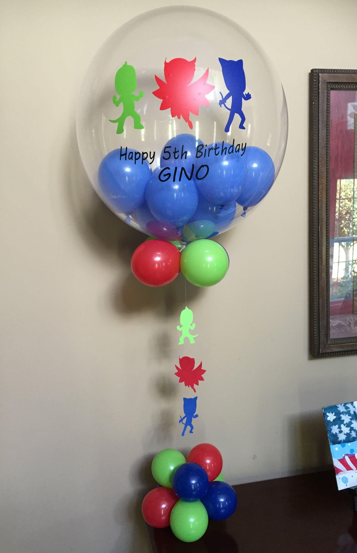 PJ Masks personalized Balloon | Balloonatics, LLC ...
