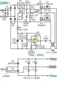 Alimentation à découpage pour ampli audio 200W à 500W in