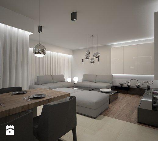 Aranżacje wnętrz - Salon: New house - experimental render - ZELER-DESIGN. Przeglądaj, dodawaj i zapisuj najlepsze zdjęcia, pomysły i inspiracje designerskie. W bazie mamy już prawie milion fotografii!