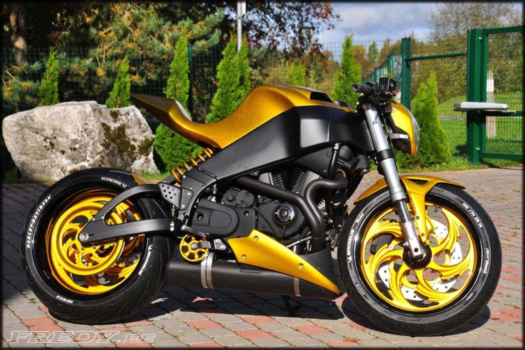 Awesome Custom Bike Buell Xb9s Lightning By Fredy Motorcycles Motorcycles Custom Custombike Bike Motorbike M Custom Bikes Buell Motorcycles Motorcycle