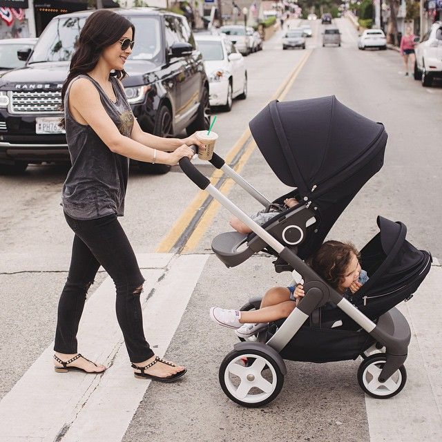 stokke crusi double stroller motherhood pinterest v tements nouveau n poussette et. Black Bedroom Furniture Sets. Home Design Ideas