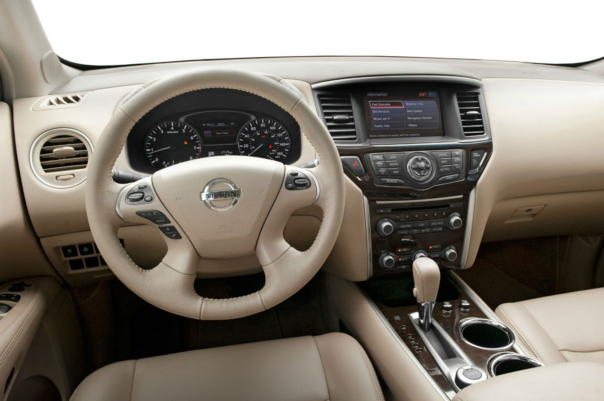 2014 Nissan Pathfinder Sl Interior With Images 2014 Nissan