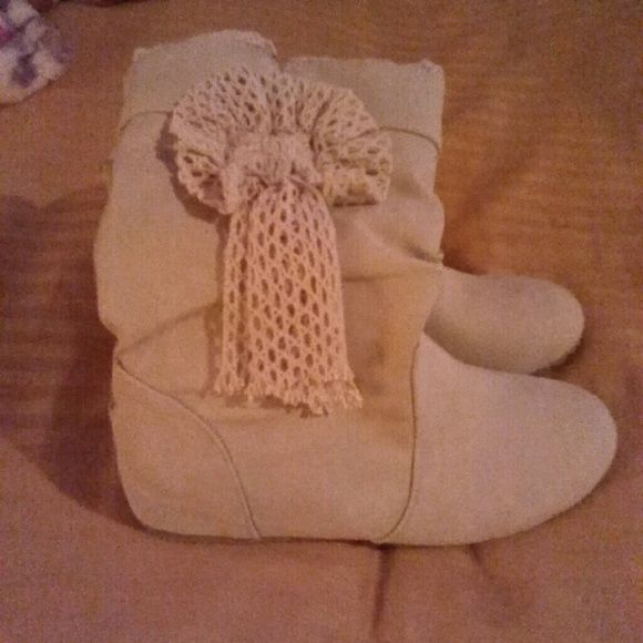 Bow Boots Brand new! Shoes Ankle Boots & Booties