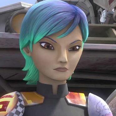 Blue Green Hair Star Wars Rebels Star Wars Blue Green Hair