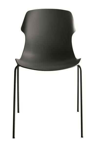 Stereo 4 stoel zwart - Casamania