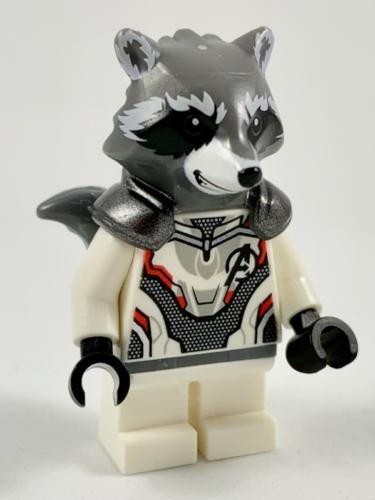 White Jumpsuit FROM SET 76126 AVENGERS ENDGAME NEW LEGO Rocket Raccoon sh569