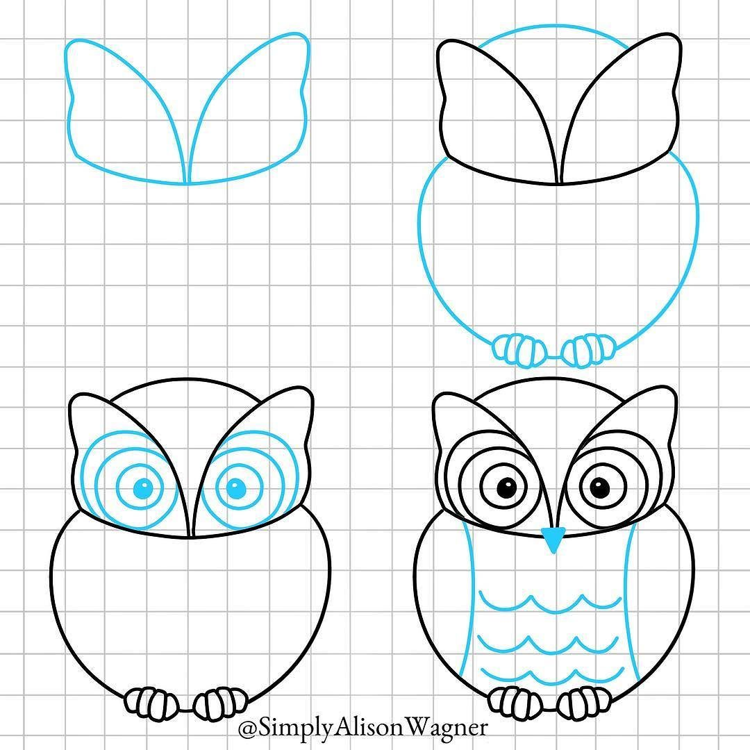 How To Draw An Owl Supplies Ipad Pro Procreate Apple