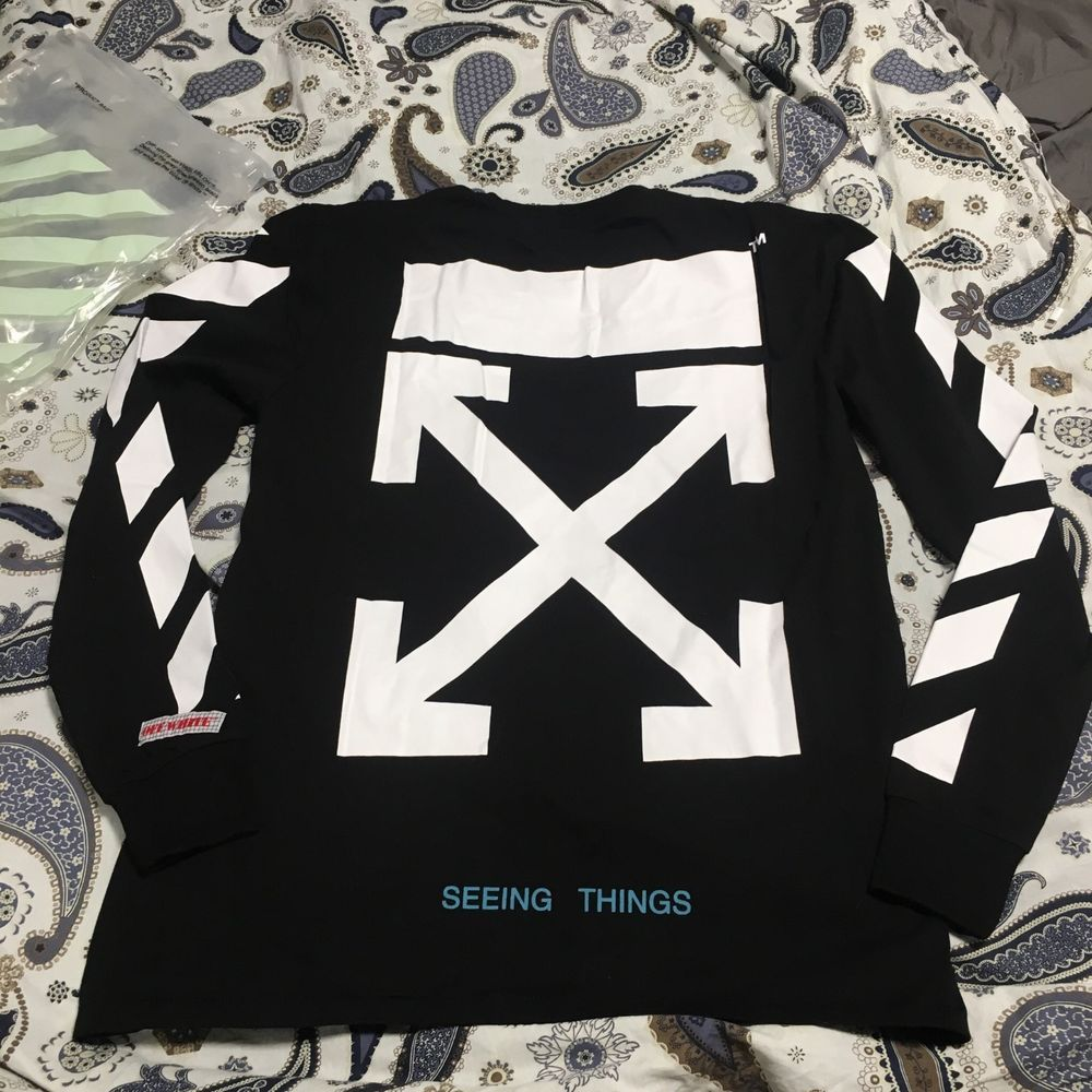 8be25684 off-white longsleeve #fashion #clothing #shoes #accessories #mensclothing # shirts #ad (ebay link)