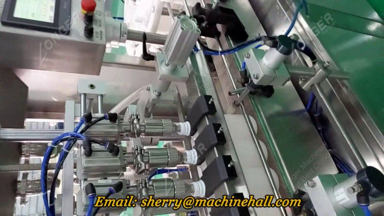 Automatic Milk Bottle Filling And Sealing Machine Video Milk Bottle Bottle Machine Video