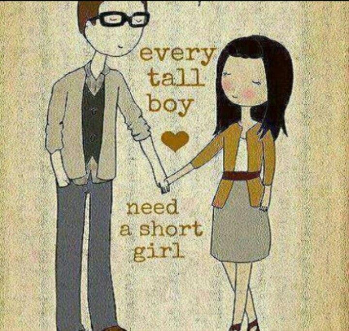 Every Tall Boy Needs A Short Girl