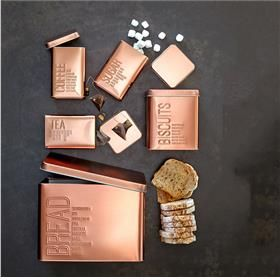 Kmart $15 Copper Canisters   Set Of 5