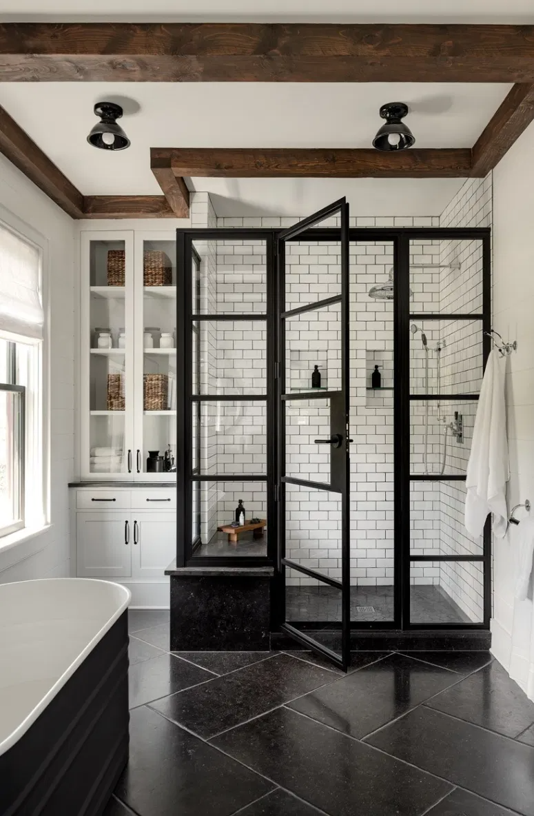 Photo of 20 Modern Farmhouse and Cottage Bathroom Tile Ideas!
