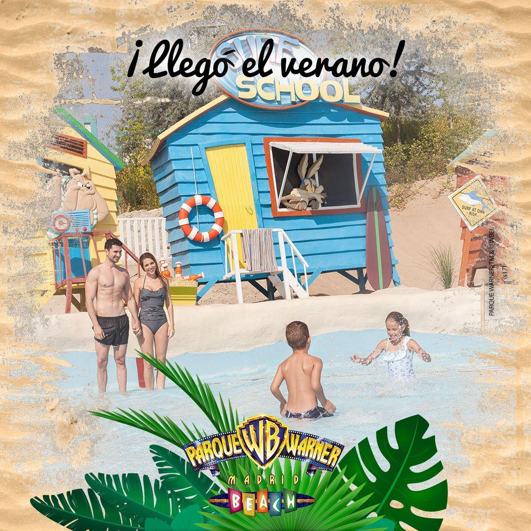 Celebra la llegada del verano con nosotros en #ParqueWarnerBeach ¡este año con entrada independiente! #VeranoPWB
