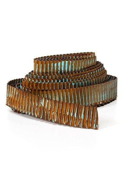 metal trim ideas corrugated metal ribbon rustic blue galvanized metal