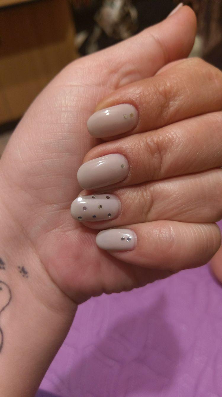36 Short Acrylic Natural Shapes Round Nails Designs And Summer ...