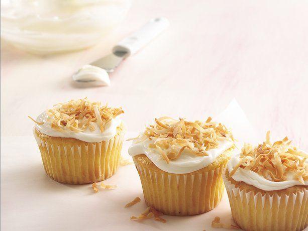 Double-Coconut Cupcakes