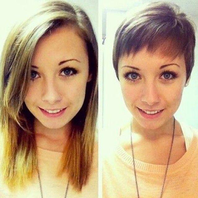 Von Langen Zu Kurzen Haaren 10 Bilder Vorher Nachher Frisuren