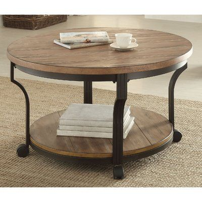 Gracie Oaks Milaca Coffee Table Sectional Coffee Table Coffee