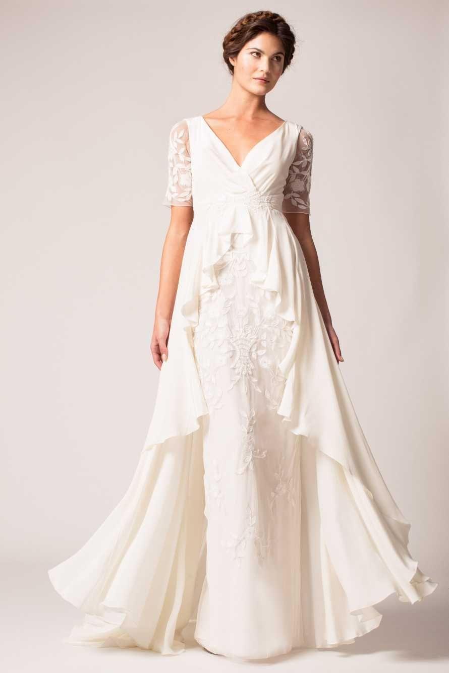 2018 Budget Wedding Dress - Informal Wedding Dresses for Older ...